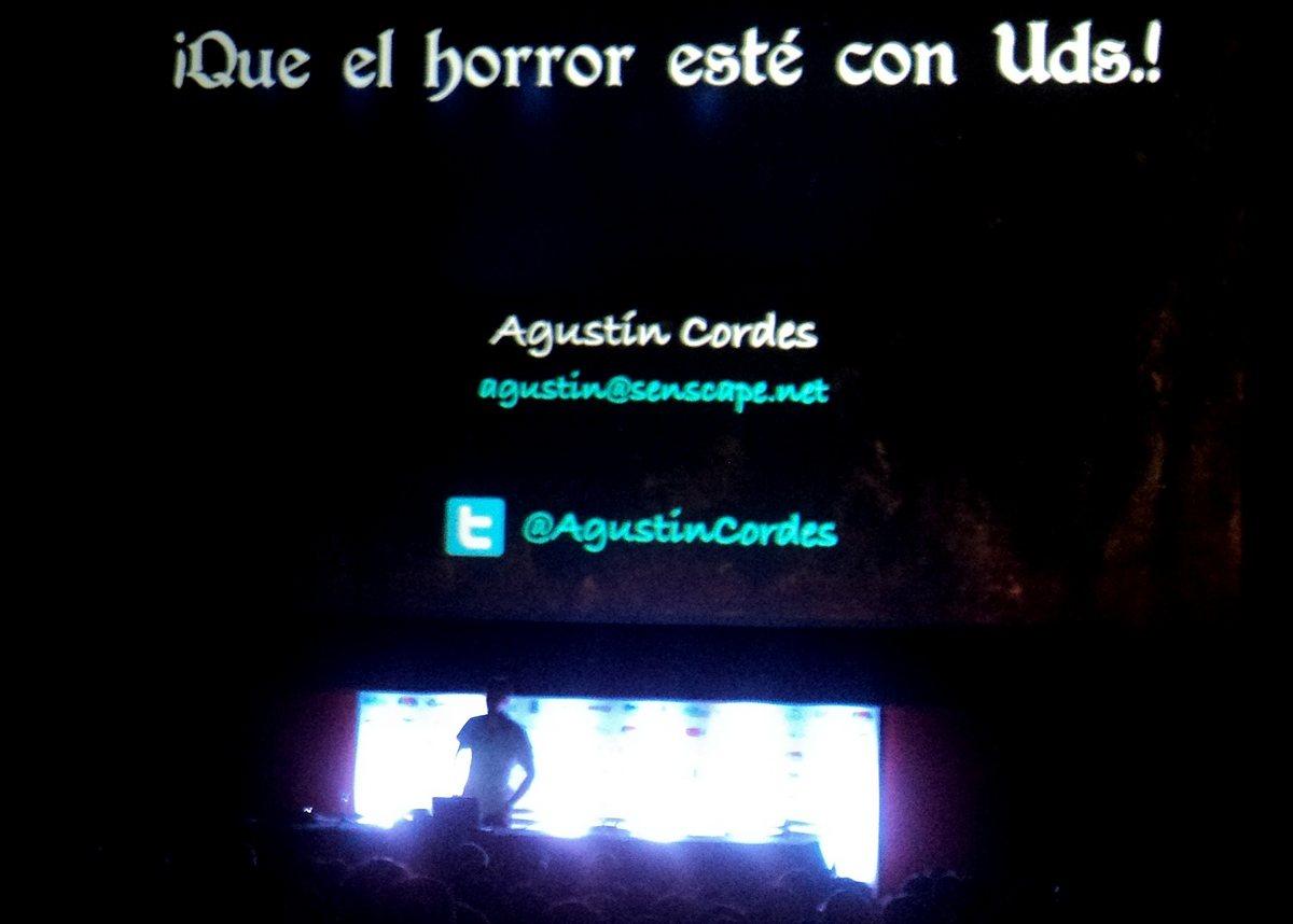 El Horror Sobrenatural en los Videojuegos a cargo del fenomenal Agustín Cordés