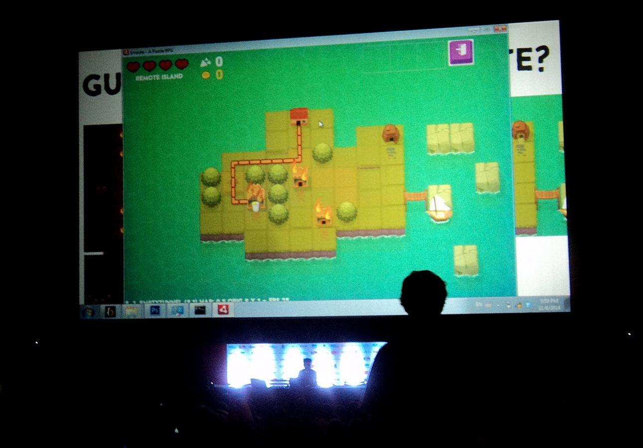 Ernesto es el nuevo juego del diseñador Daniel Benmergui