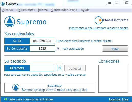 Potente herramienta de conexion remota identi - Puerto de conexion remota ...