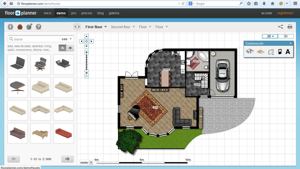 Herramientas para crear planos neoteo for Huis ontwerpen 3d