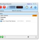 Al concluir la comunicación la plataforma te mostrará la grabación