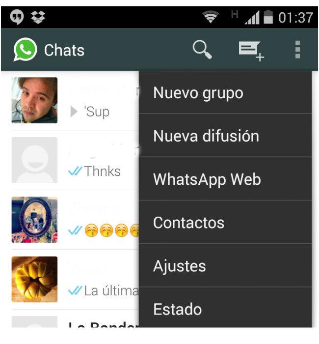 Ahora puedes usar WhatsApp Web desde el navegador de tu ordenador