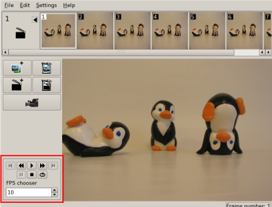 Linux Stopmotion