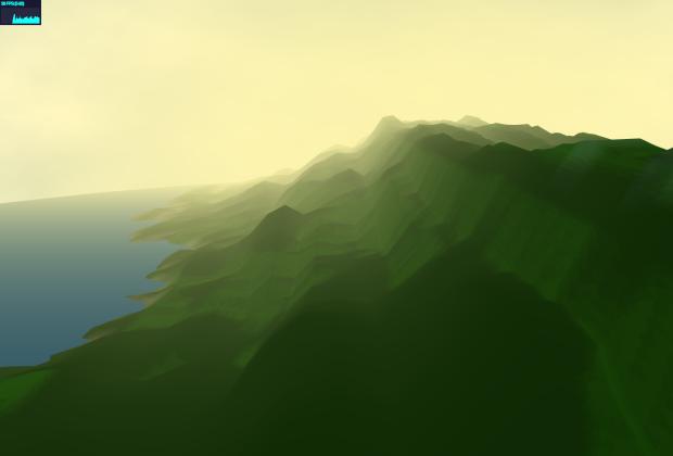 El paisaje se irá generando a medida que suena la música