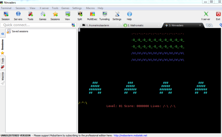 """Para saber si estás conectado solo tendrás que observar que el icono """"Server X"""" este en verde. Con este terminal tendrás casi todas las funciones de Unix en tu ordenador"""