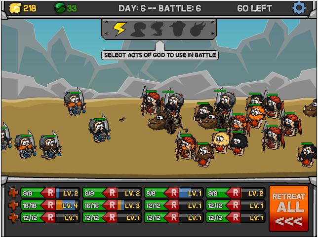Prepara a tu ejército y sobrevive a la batalla