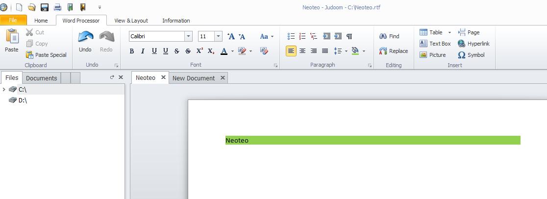 """Luego en la pestaña """"Word Processor"""", encontrarás todas las opciones para enriquecer el texto como estilo de fuente"""