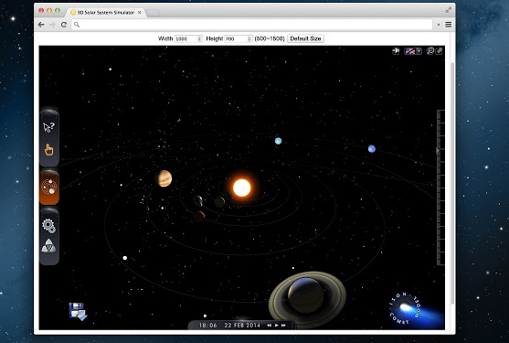 3D Sistema Solar
