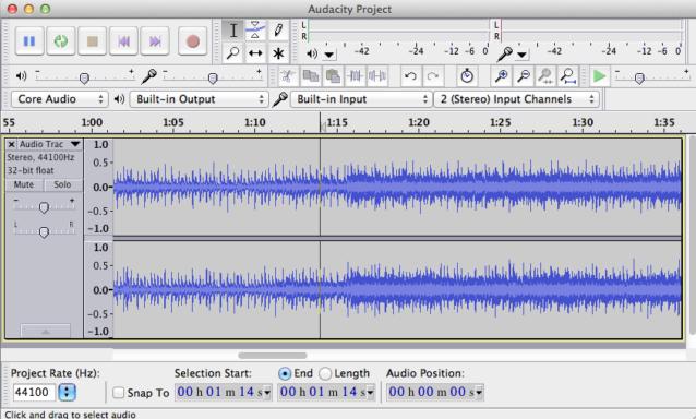 Además de ser un grabador de audio de múltiples fuentes (16 bits, 24 bits y 32 bits), la aplicación es un potente editor para post producción de audio digital