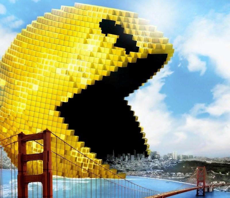 Pixels: Pac-Man Y Donkey Kong, Invasores Del Espacio
