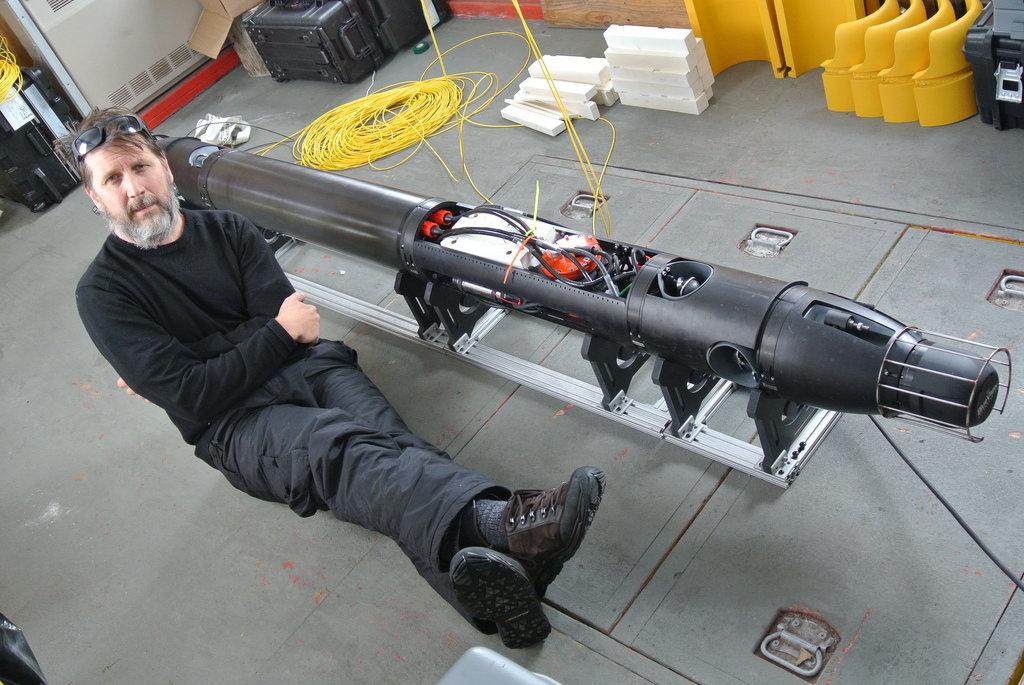 Un robot revela imágenes inéditas del fondo de la Antártida