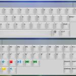 La plataforma te ofrece un teclado primario y uno secundario, en el primario encontrarás las funciones de tipificación