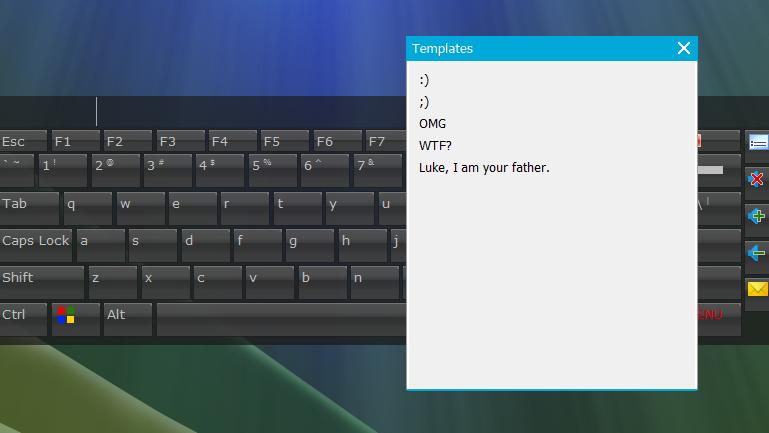 En este momento podrás personalizar su aspecto, para que el teclado se integre perfectamente a tu escritorio