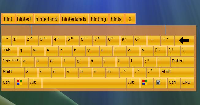 La plataforma es una perfecta combinación de un teclado físico y el teclado de un dispositivo móvil