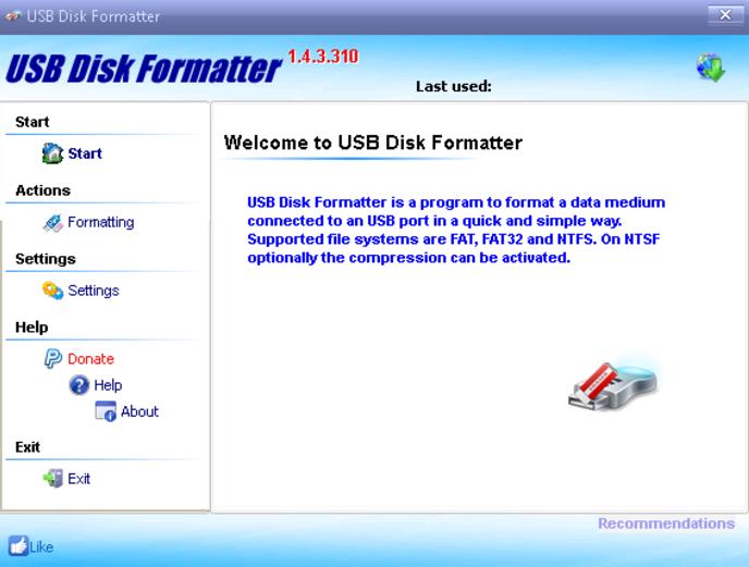 KORO USB Disk Formatter