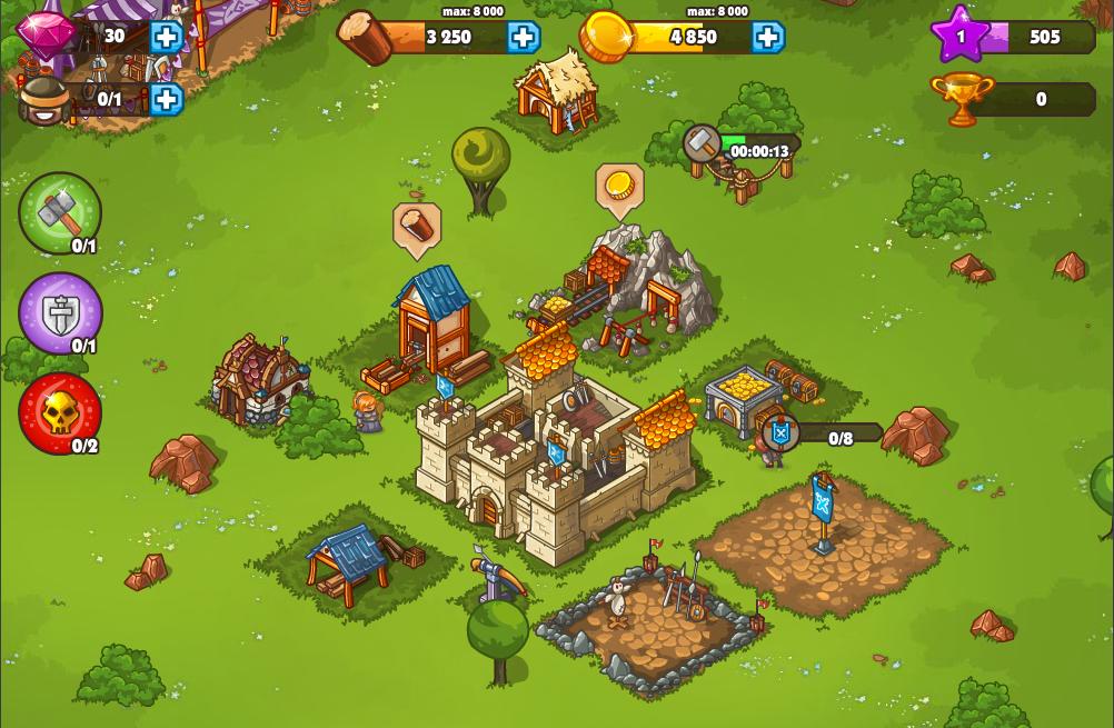 Mejora tu aldea y tu ejército para superar los desafíos porvenir