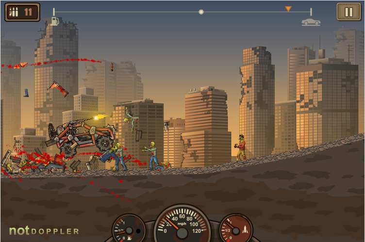 Sobrevive al apocalipsis zombie huyendo a toda velocidad
