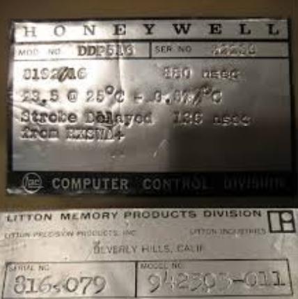 """Los primeros IMP se implementaron con ordenadores """"DDP-516 de Honeywell"""""""