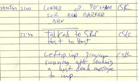 Gracias a la ARPANET, en el año 1972 un programador de la BNN llamado Ray Tomlinson inventa el correo electrónico