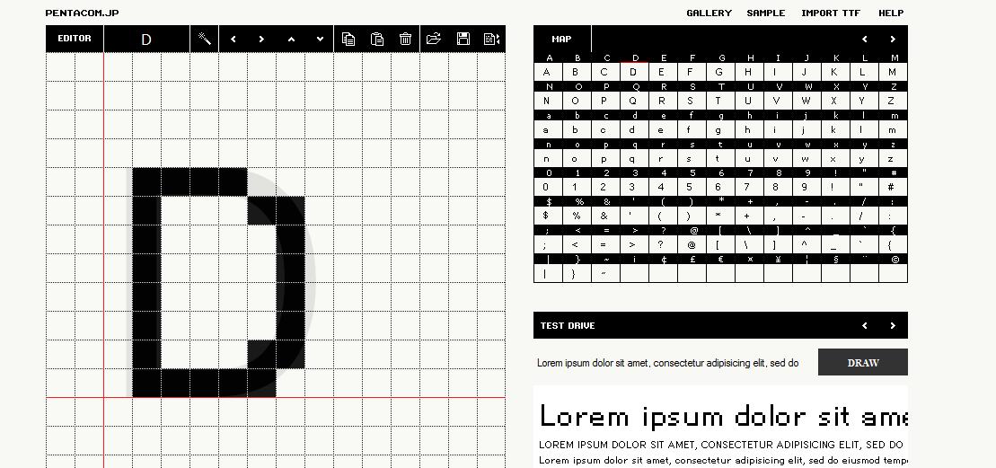 Font Maker Bit