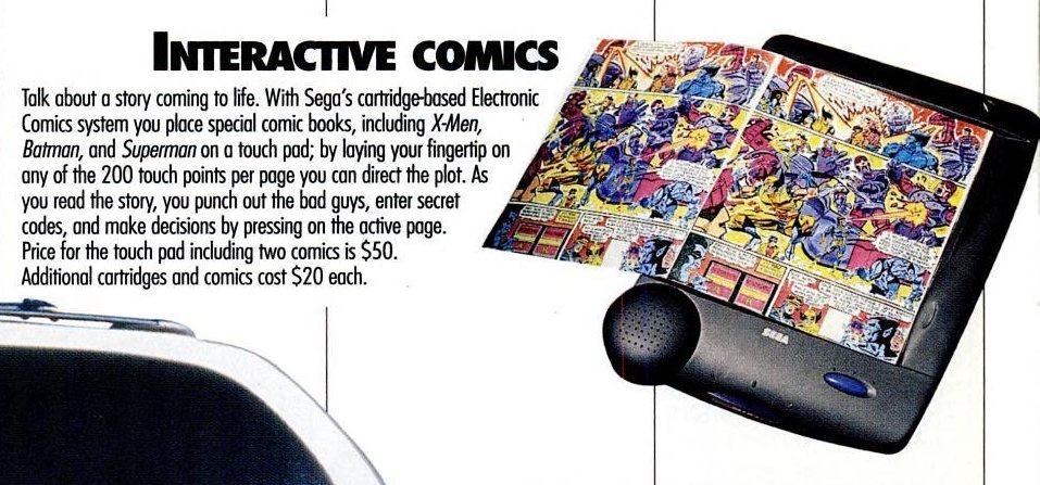 Sega Electronic Comics System