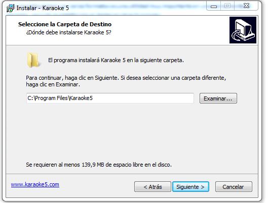 Karaoke5 es una aplicación para Karaoke que cuenta con un potente reproductor de Karaoke integrado