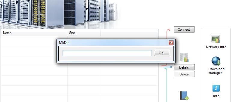 """En la opción """"Network Info"""" obtendrá las estadísticas de las velocidades de carga y descarga (kpbs)."""