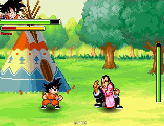 El pequeño Goku versus el asesino Tao Pai Pai