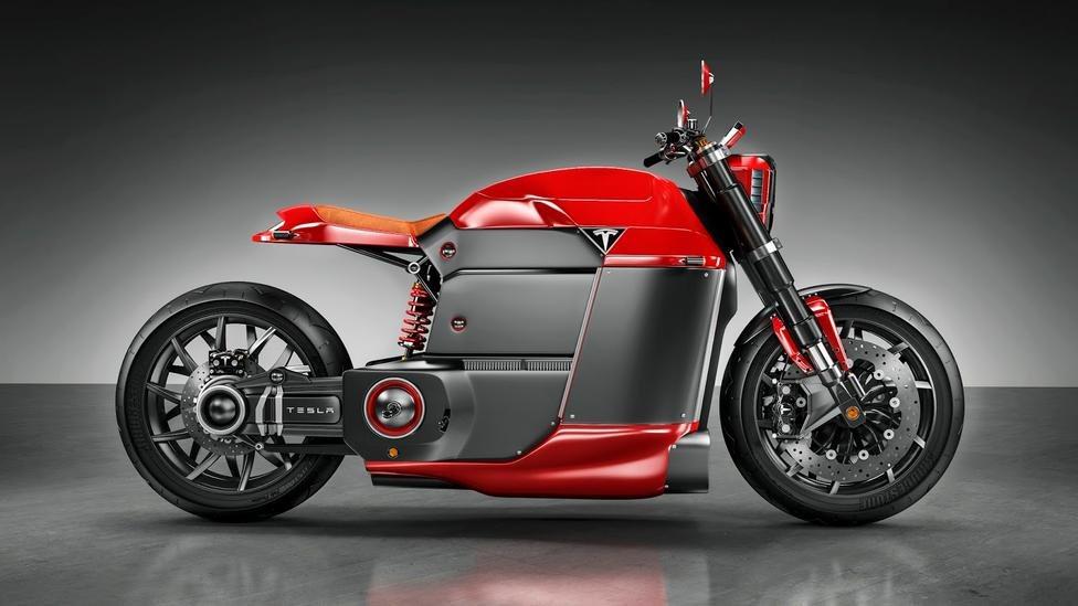 La moto eléctrica de Tesla