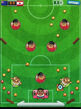 Pasa la pelota a tus jugadores y marca el gol de la victoria