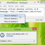 Virtuoz es una aplicación que nos proporciona hasta 20 escritorios virtuales