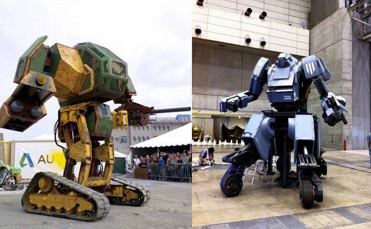 Pelea de robots