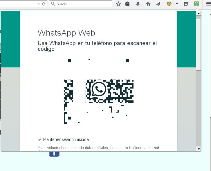 Una vez instalado el complemente a tu navegador, observarás un icono en la parte superior derecha de la barra de menú