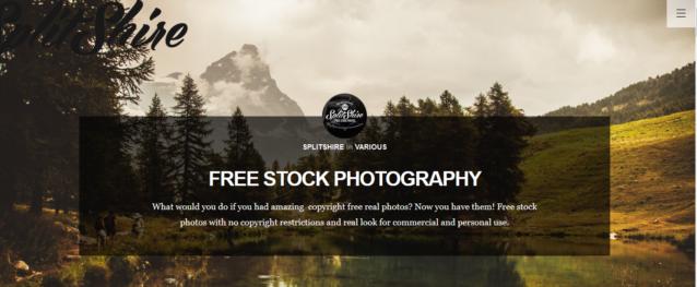 Nuestra búsqueda se centrará en páginas que solo nos ofrezcan fotos gratuitas en alta calidad y descartaremos los entornos comerciales