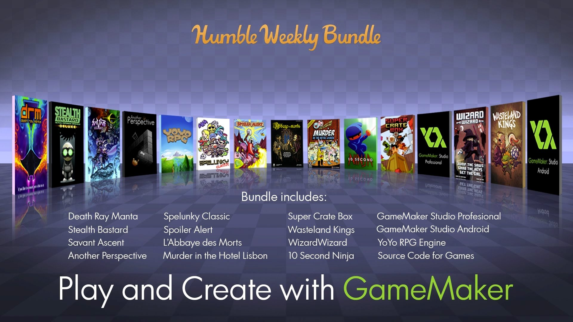 GameMaker Studio Pro a 6 dólares en Humble Bundle