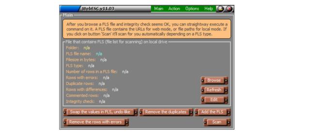 La eliminación o cambios indebidos en los archivos detectados por la utilidad, pueden afectar el uso del sistema operativo