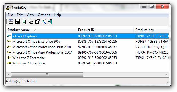ProduKey: Cómo averiguar la clave de producto de tu ...
