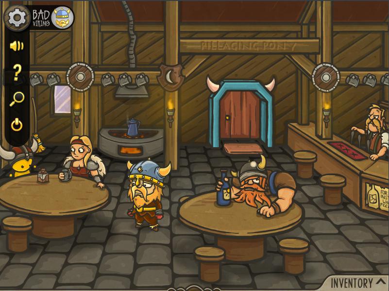 Bad Viking and the Curse of the Mushroom