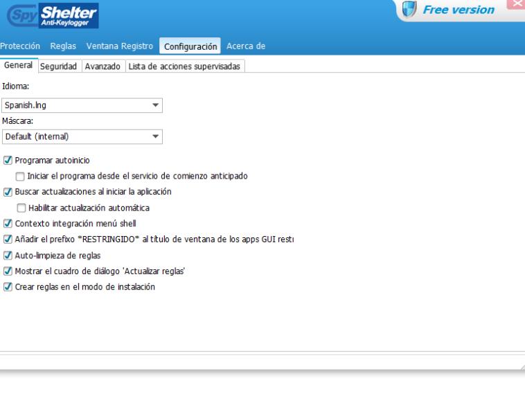 SpyShelter Free: Potente programa de protección - NeoTeo