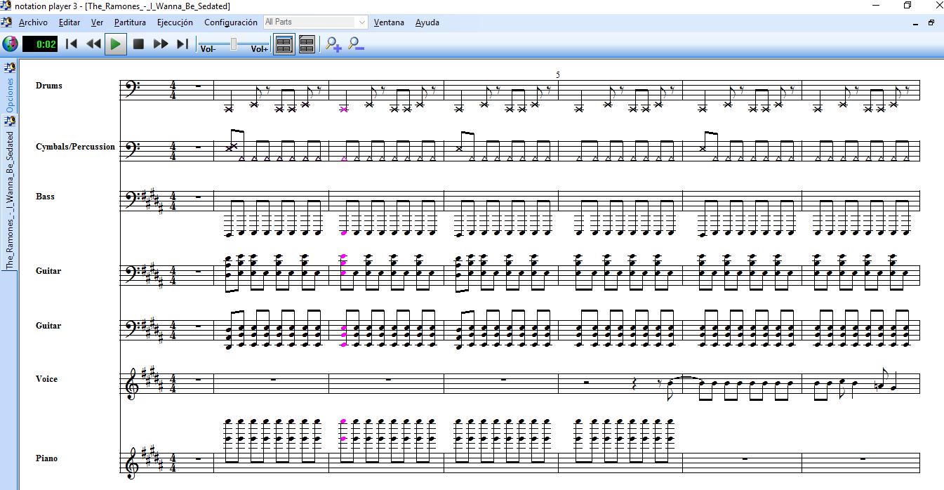 Notation Player: Visualiza las notas y letra mientras escuchas una canción