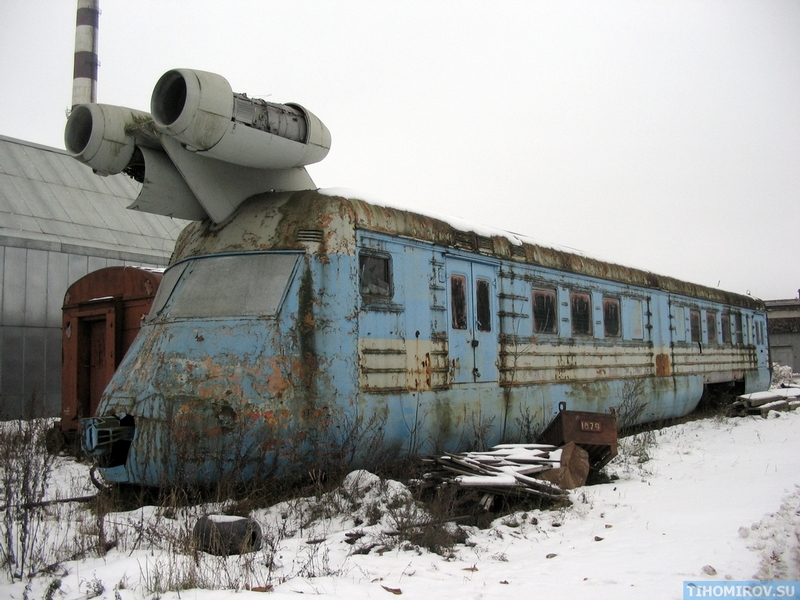 SVL: Conoce al tren soviético con motores a reacción
