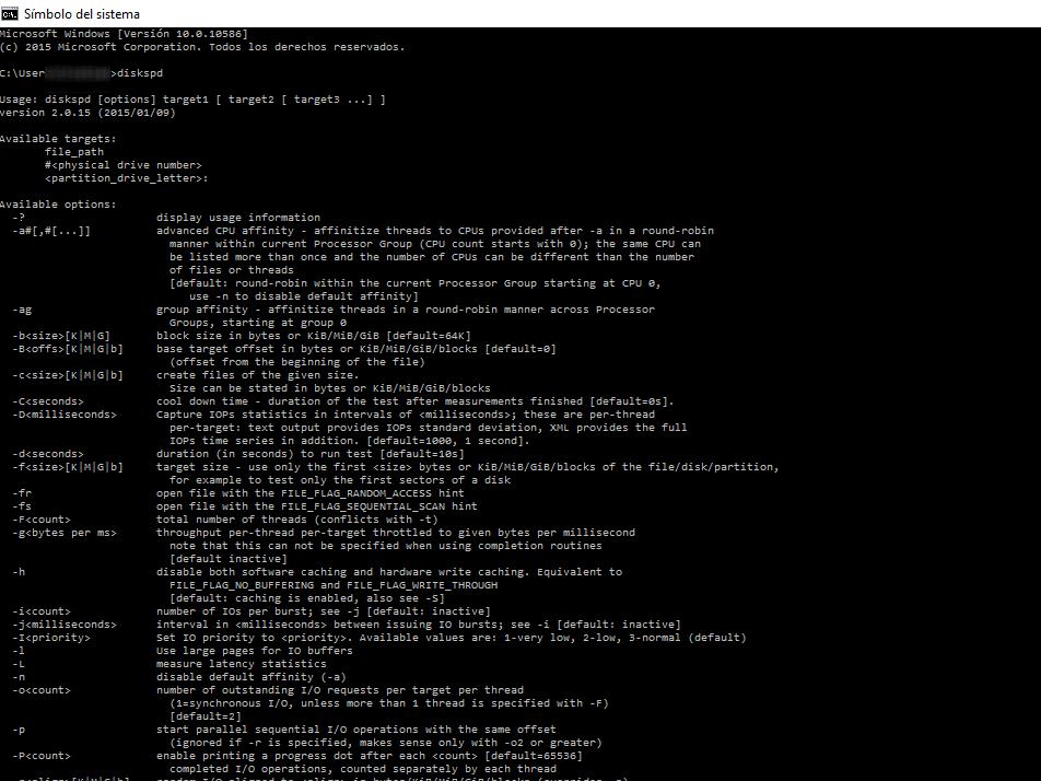 Diskspd: Cómo poner a prueba tu disco duro