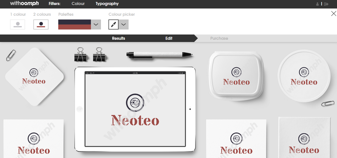 La plataforma diseña tu logo por ti