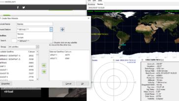 Podrás seguir uno o más satélites