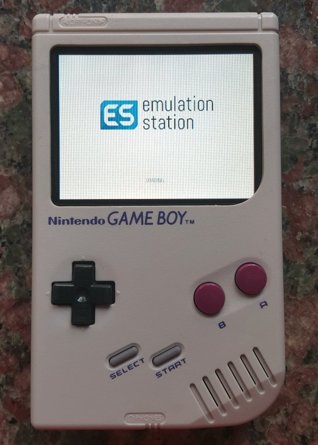 Game Boy RPI Zero