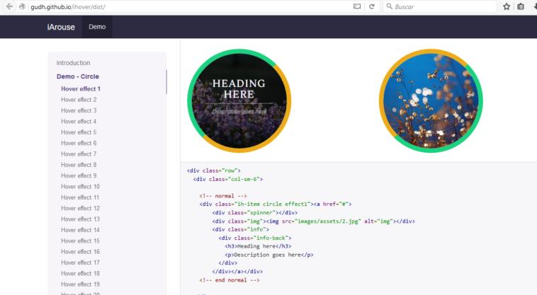Librerías CSS para mejorar el efecto Hover - NeoTeo