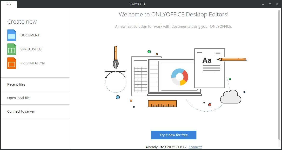 onlyoffice  un paquete ofim u00e1tico open source