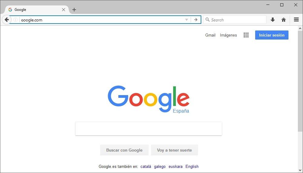 Google dirección falsa