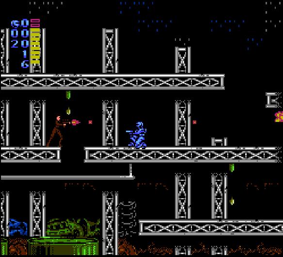 El mejor juego de Robocop en NES, punto.