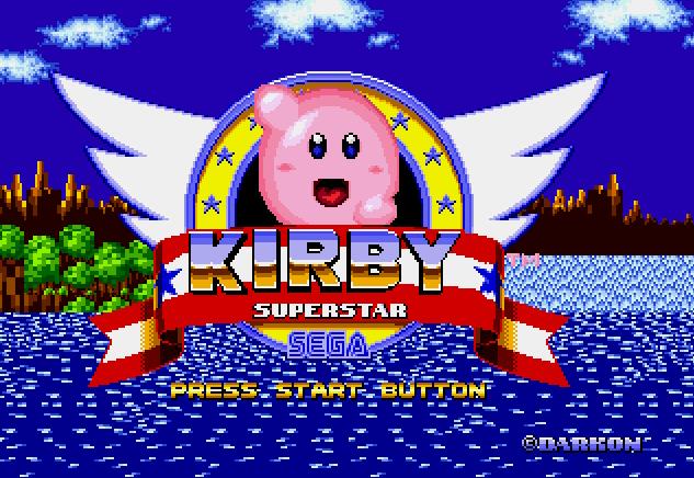 """Kirby trae sus poderes al mundo de Sonic. Así, puede dar un doble salto y """"chupar"""" todas las monedas y enemigos del nivel."""
